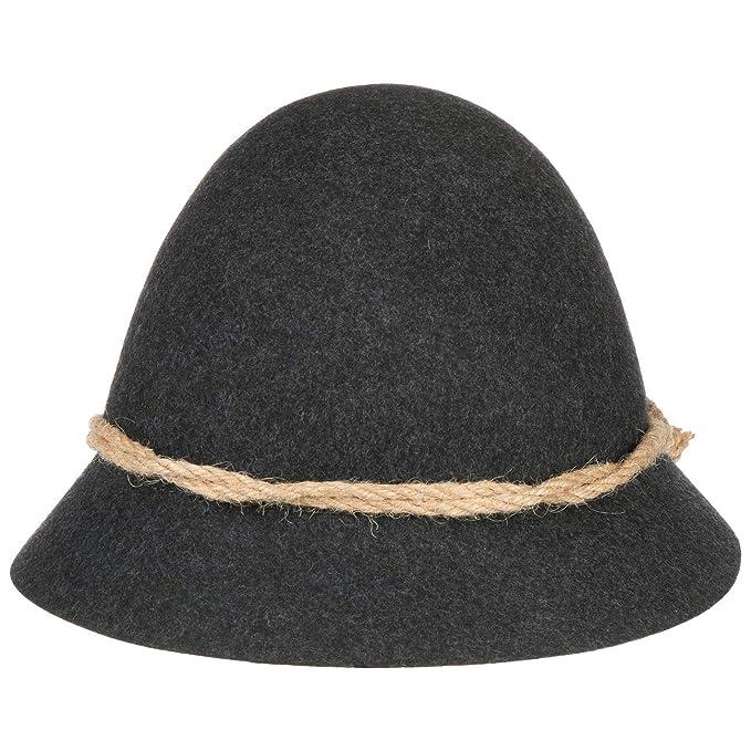 Schinderhannes Cappello da Bambino cappello tirolese cappello da  camminatore 48 cm - antracite cb281e9b79e3