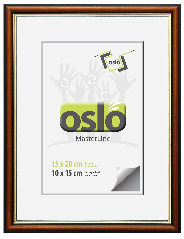 Amazon.de: OSLO MasterLine Bilderrahmen 15x20 Aluminium champagner ...