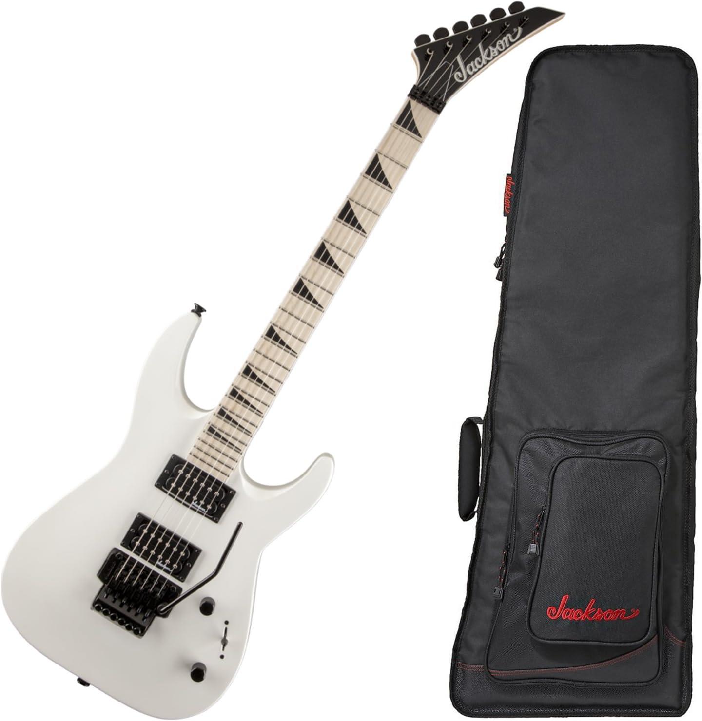 Jackson JS32 Dinky dka-m nieve blanco guitarra eléctrica w/funda ...