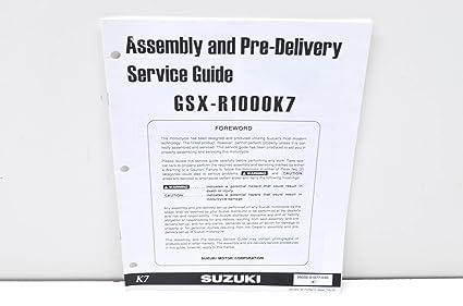 Amazon com: Suzuki 99505-01077-03E GSX-R1000K7 Assembly