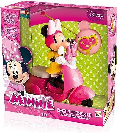 Amazon.es: IMC Toys - Moto RC Scooter Minnie Pilas (Minnie Extraible) 43-180673