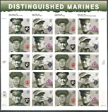 2005 Distinguished Marines 37 Cent Sheet of 20 Stamps Scott 3961-64 By USPS