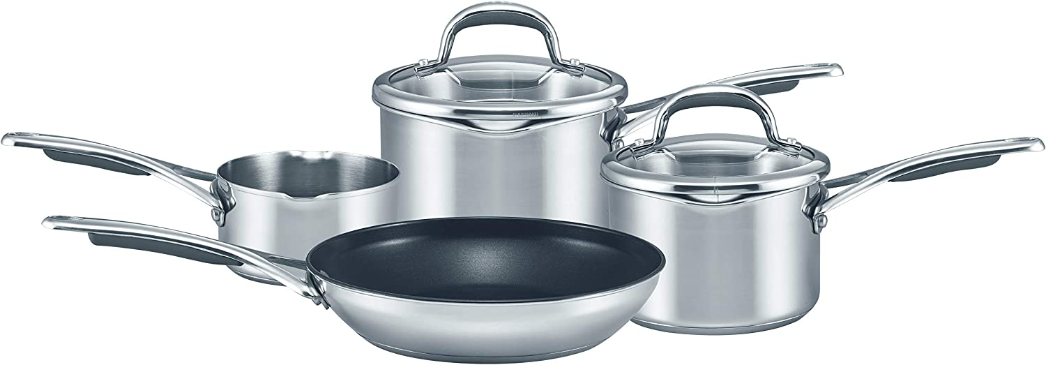 Meyer select stainless steel cookware set - Best cookware for gas stoves