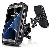 "Impermeabile e Cellulare Custodia per Moto,Electro-Weideworld 5,2""--5,8""Universale Supporto Cellulare Impermeabile Custodia, Borsa, Borsetta per Bicicletta / Bici per iPhone 7 Plus/iPhone 6s /6 Plus,Samsung Galaxy S8/S7,Huawei P10 Lite,LG G5/G4 (5.2""-5.8"")"