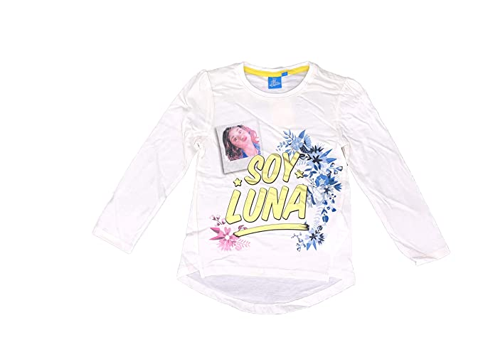 Soy Luna T-Shirt with Long Sleeves (White, 10 Years)