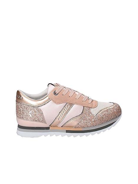 Apepazza Scarpe Donna Sneaker MOD Domitille Tessuto Suede E Glitter Col.  CIRPIA DS18AP03  Amazon.it  Scarpe e borse 97fbbf778ef