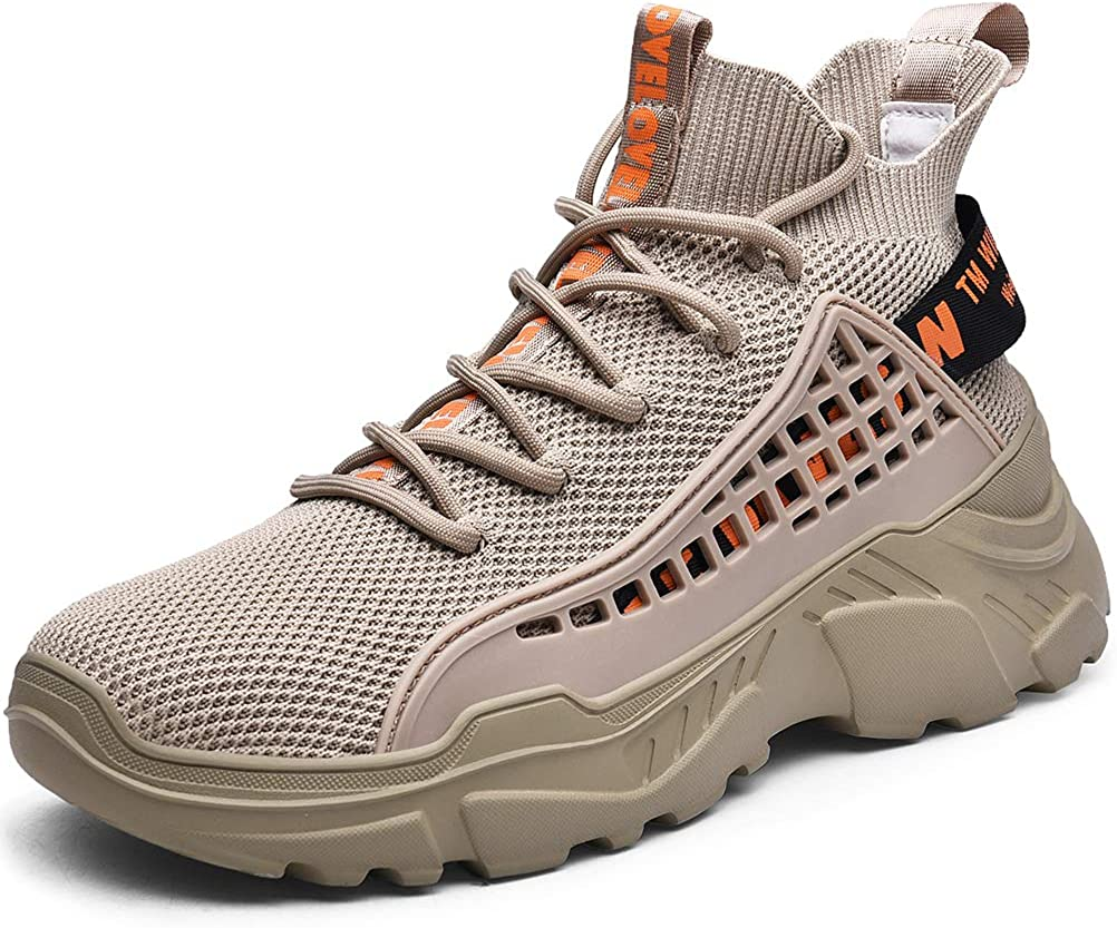 SANNAX Mens Fashion Sneakers Walking