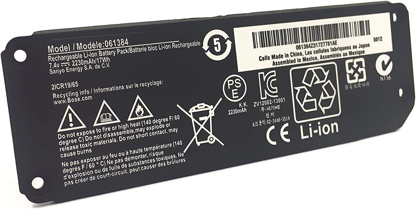 Amazon Com Htl Bose 061384 063404 061385 061386 Battery For Bose Soundlink Speaker Mini 1 I One 7 4v 2330mah Home Audio Theater