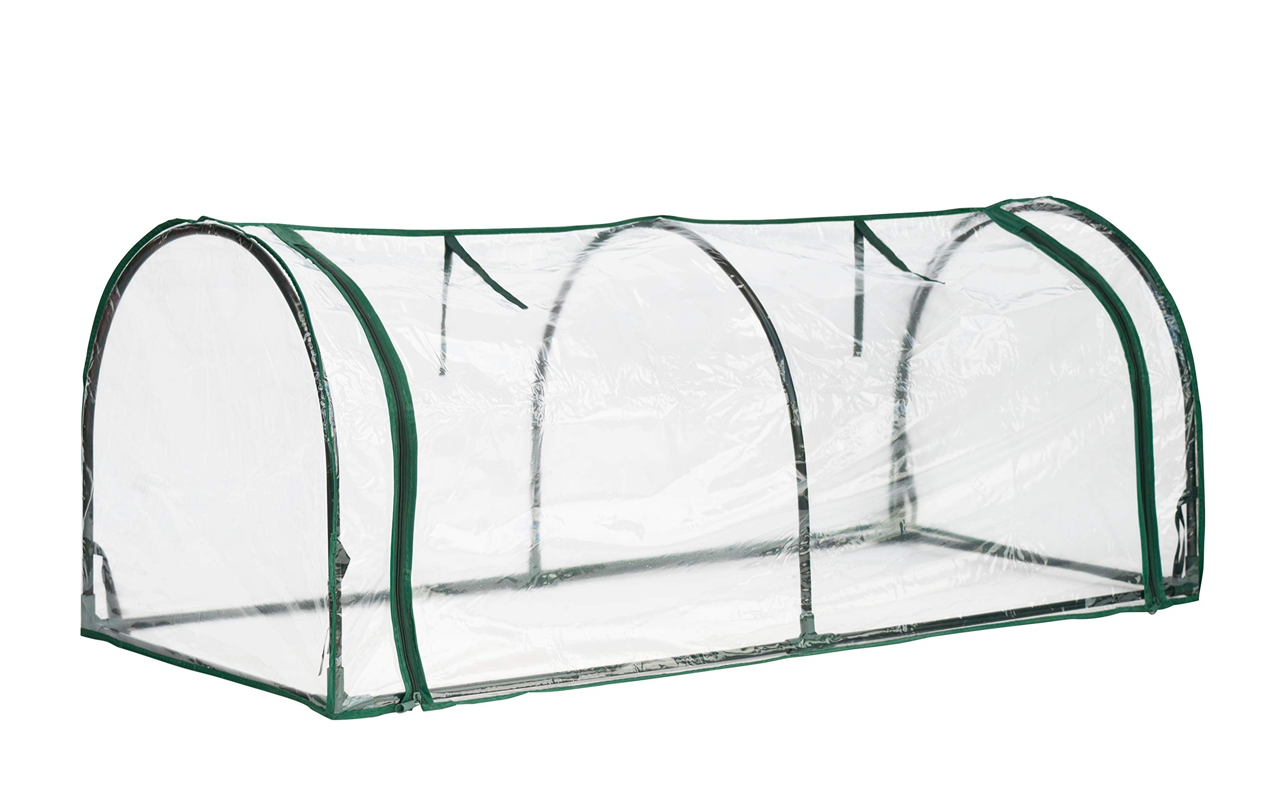 Topline Outdoor Mini Garden Greenhouse with Zipper Openings - 51 Inch