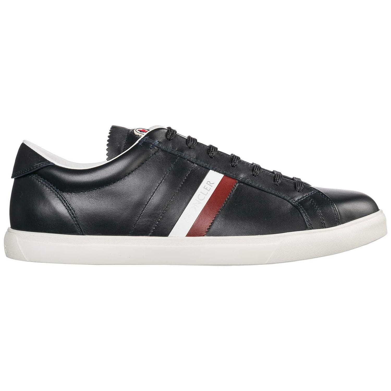 blue Moncler Men La Monaco Sneakers black