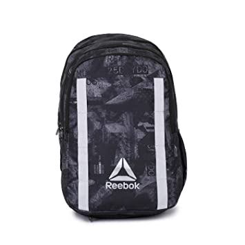 Reebok Unisex Black Graphic X Laptop Backpack  Amazon.in  Bags ...