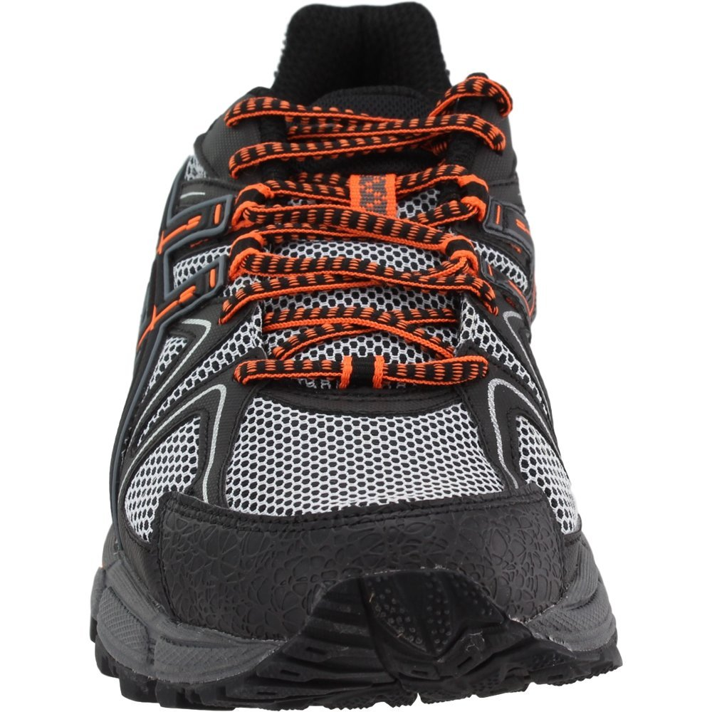ASICS Mens Gel-Kahana 8 Running Shoe Black/Hot Orange/Carbon 6.5 Medium US by ASICS (Image #5)