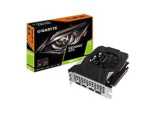 GIGABYTE GeForce GTX 1660 Ti Mini ITX OC 6G 192-bit GDDR6 DisplayPort 1.4 HDMI 2.0B with Windforce 2X Cooling System Graphic Cards- Gv-N166TIXOC-6GD