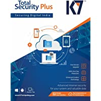 K7 Total Security Plus 5pc 1user 1yr single CD