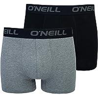 O'Neill Basic - Calzoncillos tipo bóxer deportivos para hombre, para cualquier ocasión (juego de 2 unidades)