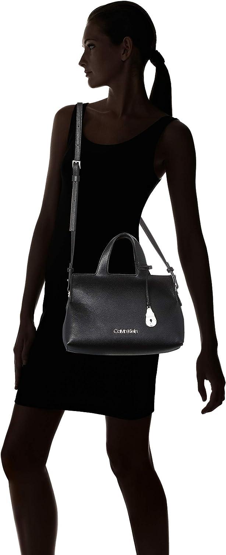 Calvin Klein - Neat Tote Md, Borse Tote Donna Nero (Black)