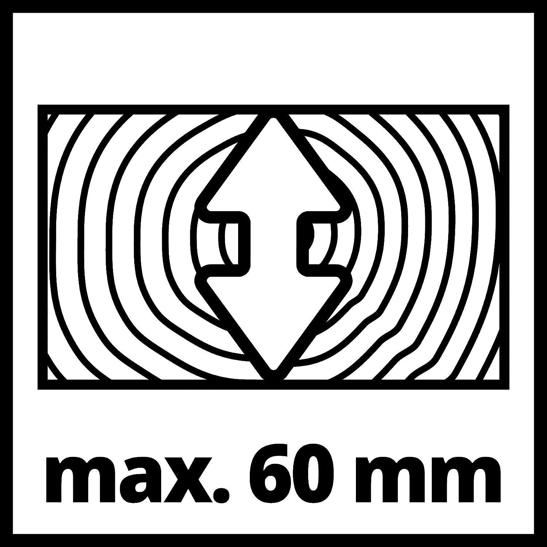 Einhell Kapp-Gehrungss/äge TC-MS 216 max. 1600 W, /Ø216 x /ø30 mm S/ägeblatt, Arbeitstisch aus Alu-Druckguss, Drehtisch mit Einrastpositionen, S/ägekopf bis 45/° neigbar, inkl. Hartmetall-S/ägeblatt