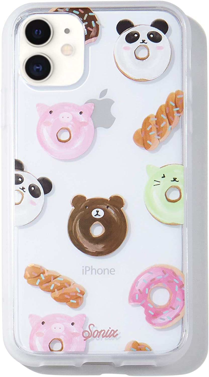 Sonix Kawaii Donuts Case for iPhone 11 [Military Drop Test Certified] Protective Clear Series for Apple iPhone 11