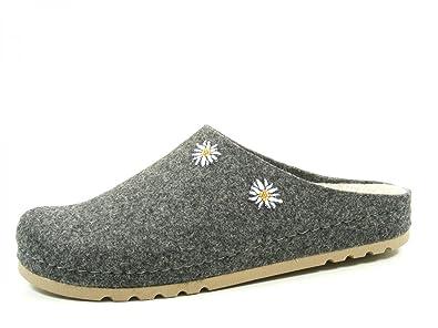 einzigartiges Design Großhandelspreis 2019 UK Verfügbarkeit Rohde 6015-82 Riesa Schuhe Damen Hausschuhe Pantoffeln Filz Weite G