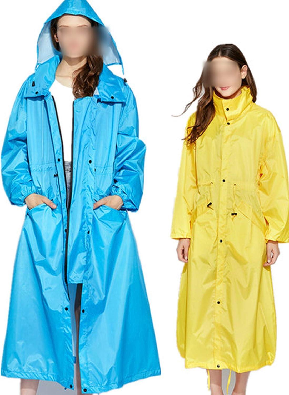 Whocare Manteau de pluie pour femme Imperméable à l'eau Coupe-vent Poncho Outwear Imperméable Capa De Chuva Hoodies Imperméable Manteau de Pluie Rose Clair