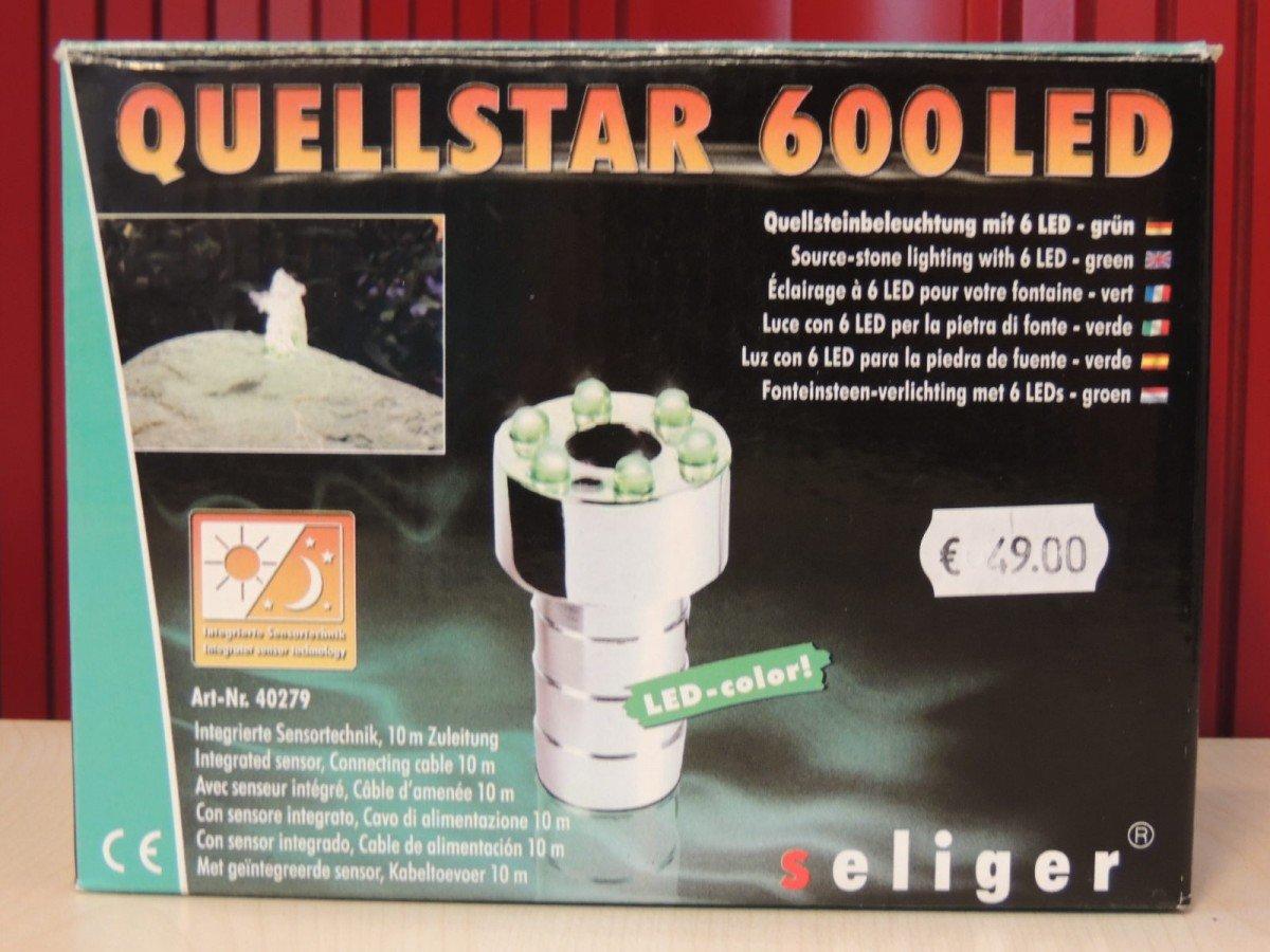 Groen Led Licht : Quellstar grÜn led quellsteinbeleuchtung amazon garten