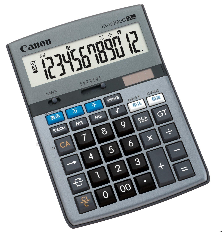 キャノン 卓上電卓 HS-1220TUG