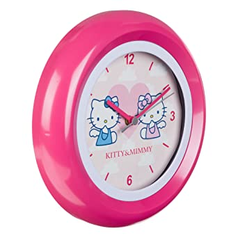 Amazon.com: Hello Kitty Childs Kanoya Pink Analogue watch/HK28-5: Watches