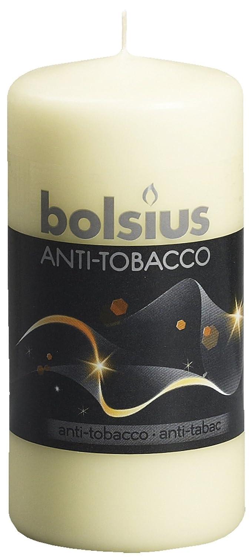 Ivyline 103626640169 Bolsius Bougie parfumée anti-tabac -Blanc - 120 x 60 mm