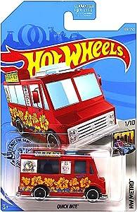 Hot Wheels 2019 HW Metro Quick Bite (Food Truck) 189/250, Red
