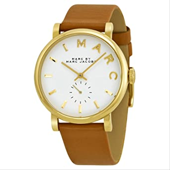 7892efdcd36e [マークバイマークジェイコブス]Marc by Marc Jacobs 腕時計 Brown Leather Strap Watch MBM1316【