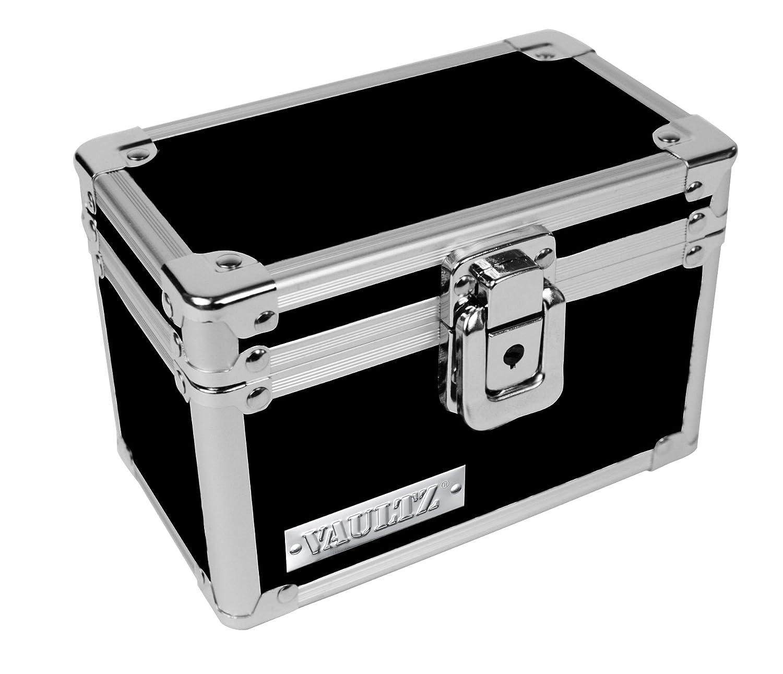 Vaultz Locking 3 X 5 Index Card Box Black Vz01169 Ebay