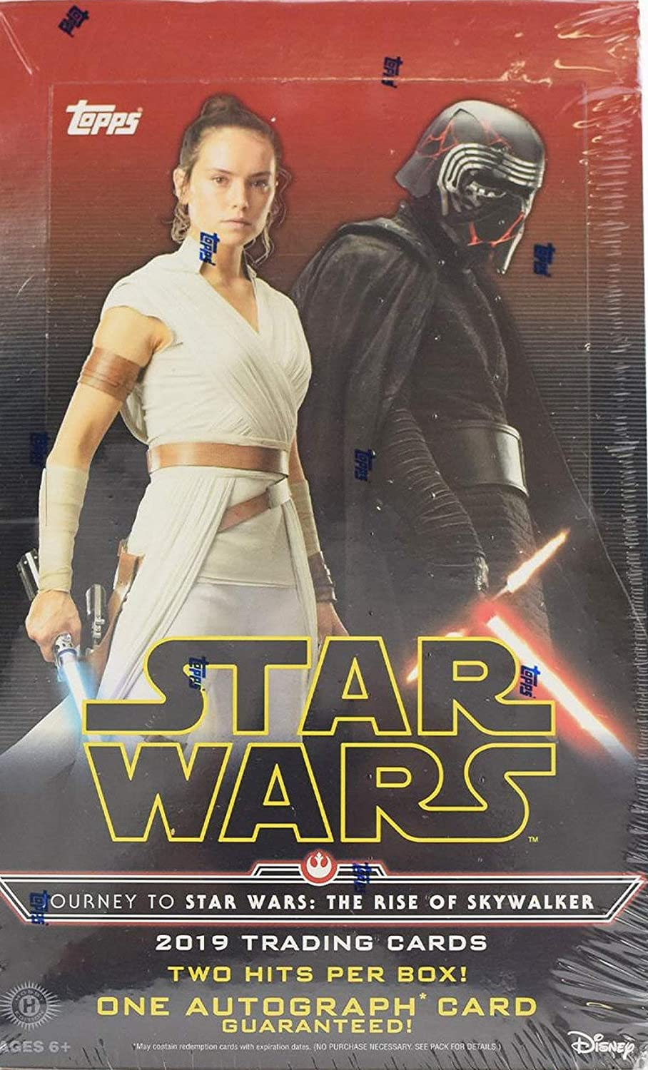 Amazon Com 2019 Topps Star Wars Journey To Star Wars The Rise Of Skywalker Tracing Card Hobby Box 24 Pks Bx Collectibles Fine Art