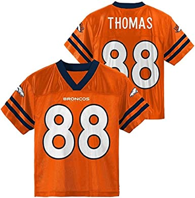 Outerstuff Demaryius Thomas Denver Broncos Orange Youth Player Home Jersey