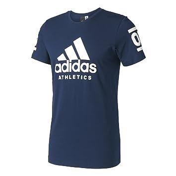 Adidas 360 Camiseta, Hombre, Azul (Maruni), S: Amazon.es: Deportes y aire libre