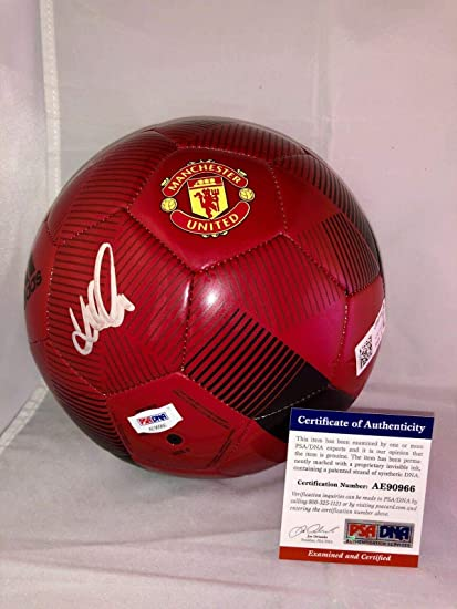 ae6d2b48a79 David Beckham Hand Signed Manchester United Soccer Ball Cert Miami - PSA DNA  Certified - Autographed Soccer Balls at Amazon s Sports Collectibles Store