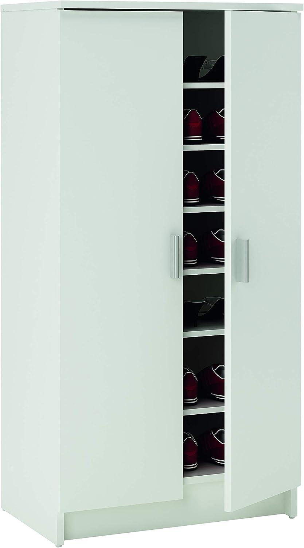 Fashion Home Zapatero Ordine A11 Blanco: Amazon.es: Hogar