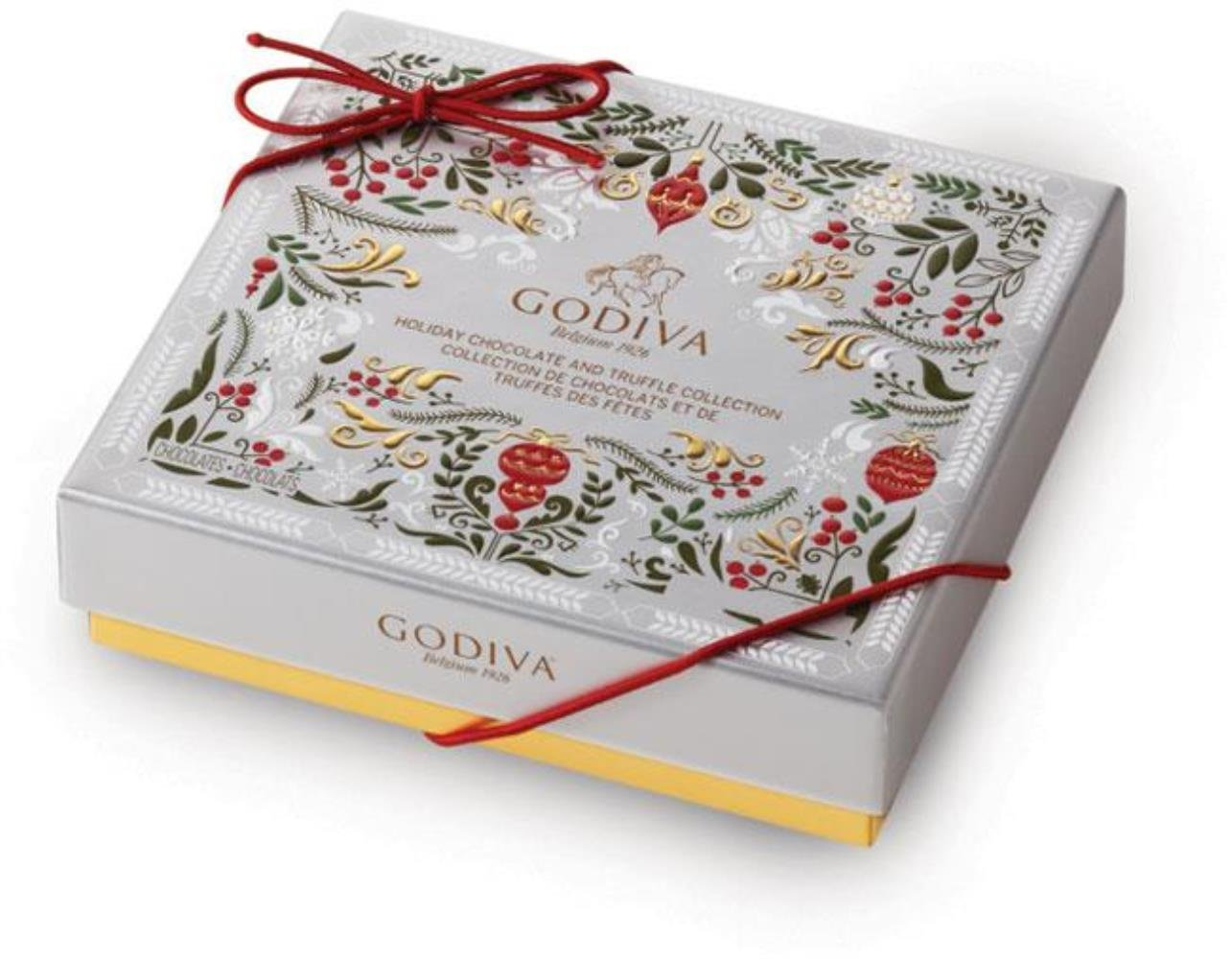 Amazon.com : Godiva Chocolate 2016 Holiday Chocolate and Truffle Box ...
