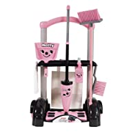 Casdon Hetty Cleaning Trolley,pink
