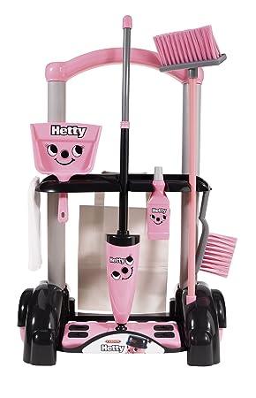 Casdon Hetty - Carro de limpieza de juguete, color rosa: Amazon.es: Juguetes y juegos