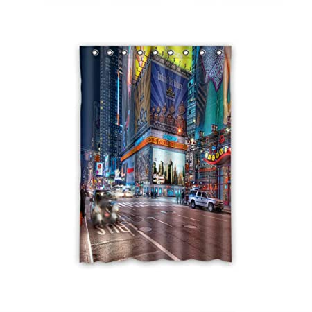 DOUBEE Custom Beauty Cityscape Blackout Curtain With Eyelet Ring Top 52quotx72quot