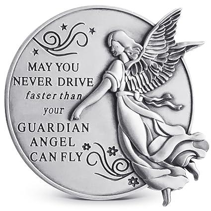 64ea1ed5 Amazon.com: Guardian Angel Visor Clip For Car: 2-1/4 Inch Diameter ...
