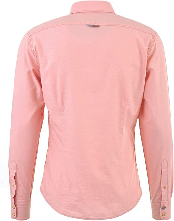 Colours & Sons John Camisa, Naranja (Salmon), S para Hombre: Amazon.es: Ropa y accesorios