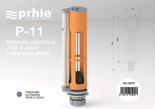 Descarga El/éctrica W.C Prhie P-11 220V