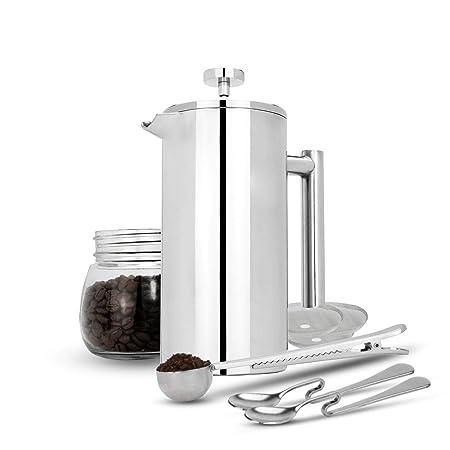 Maison & White 350ml Cafetería francesa de prensa | Prensa de café ...