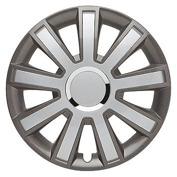 4-Piece Set of Wheel Trims 14-inch Master Line Plus flash_GREY-C for silver Opel, Hubcap Wheel Cover Trim: Amazon.co.uk: Car & Motorbike