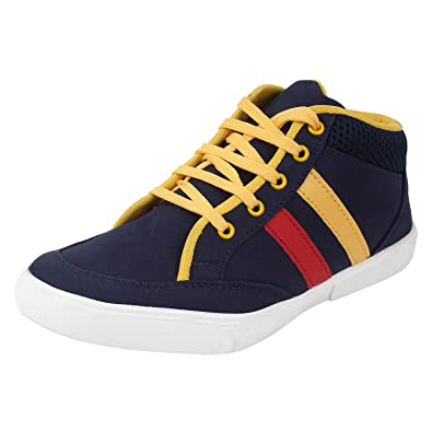 28b53dba1c5bb Guava Men Casual Denim Shoe - Blue: Buy Online at Low Prices in ...