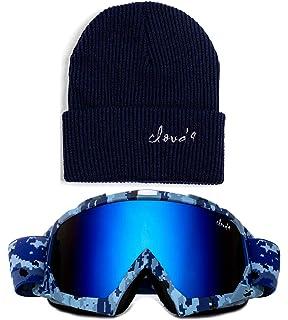 4ed8ac0ac45a Cloud 9 Professional Snow Ski Goggles Adult Anti-Fog Dual Lens UV400  Protection