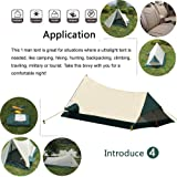 1 Person Camping & Backpacking Tent With Carry