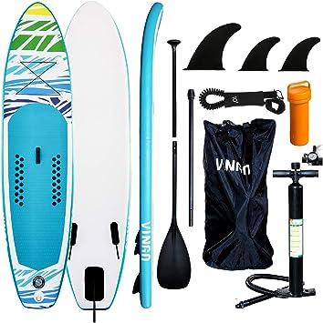 Surfboard Aufblasbares Sup Board Sicherungsleine 305-330cm Kajak-Sitz