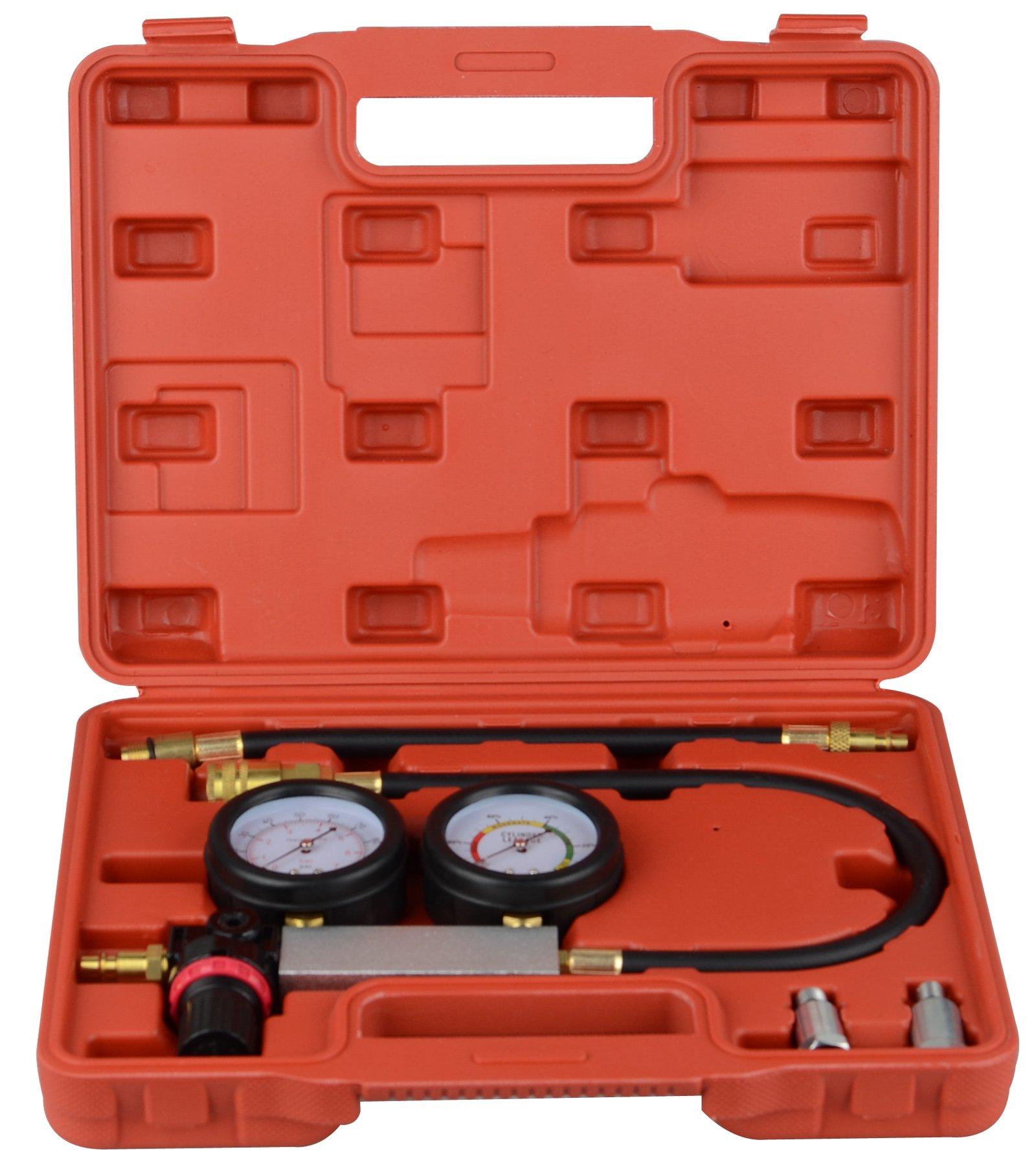 DA YUAN Cylinder Leakage Leak Detector Engine Compression Tester Gauges Set